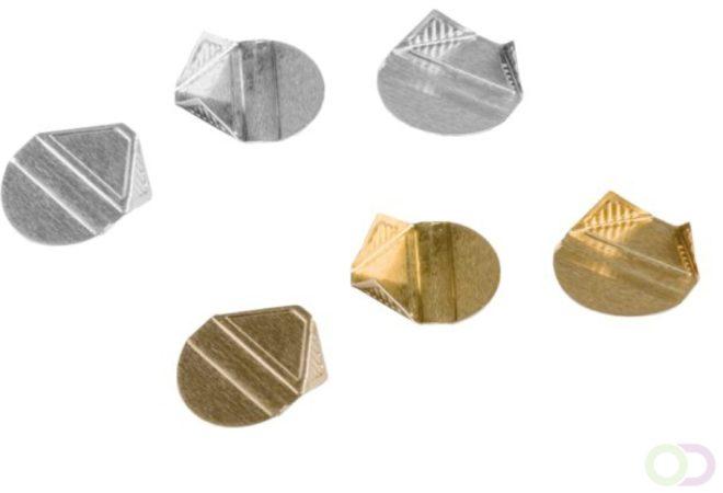 Afbeelding van Hoekclip Quantore 100stuks goud