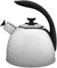 Zilveren BergHOFF Essentials Fluitketel - 2,5 liter - Geschikt voor inductie