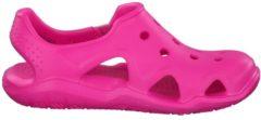 Sandale Swiftwater Wave 204021-6L0 mit verstellbarem Verschluss Crocs Neon Magenta