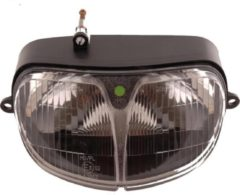 Zwarte Oplos Scooters Cockpitglas Bobotech | China LX Smoke
