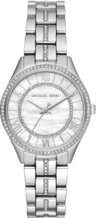 Afbeelding van Zilveren Michael Kors Lauryn horloge - MK3900