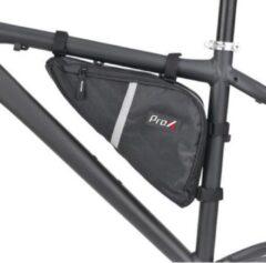 Zwarte ProX Driehoekige Frametas - Mountainbike Racefiets - 5 Liter