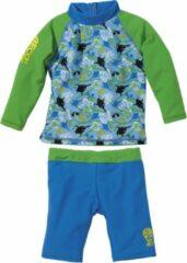 BECO UV-shirt + zwemshort Sealife Blauw | 92-98