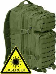 Brandit Backpack - Rugzak - LASERCUT Mollie system - medium olive