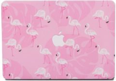Lunso - cover hoes - MacBook Pro 13 inch (2016-2018) - Flamingo roze