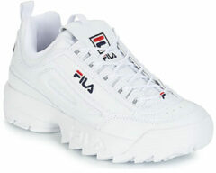 Witte Fila Disruptor Low Sneakers Mannen - White
