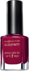 Max Factor Glossfinity Nail Polish Burgundy Crush 155 - 11ml