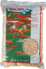 Witte 5 stuks VT White Sticks Premium vijvervisvoer 15 l