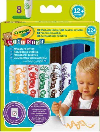 Afbeelding van Crayola Mini Kids Viltstiften Met Bolle Punt - 8 Stuks