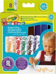 Crayola Mini Kids: viltstiften met bolle punt 8 stuks