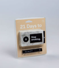 Doiy Tickets 21 Days To Stop Smoking papier zwart