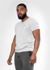 Bodyfit Body&Fit Essential Casual T-Shirt - Sportshirt Heren – Maat: S - Grijs