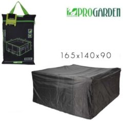 Zwarte Pro Garden ProGarden luxe meubel hoes 165x140x90.