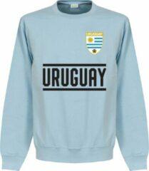 Lichtblauwe Retake Uruguay Team Sweater - Licht Blauw - XL