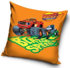 Nickelodeon kussen brazing speed jongens 40 cm polyester oranje