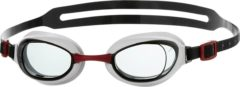Rode Speedo Male Aquapure Goggle Zwembril Heren - Red/Smoke - Maat One Size