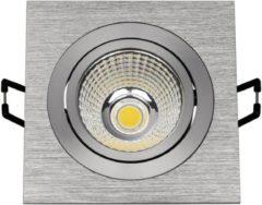 SLV Big White SLV NEW TRIA LED DL SQUARE SET Inbouwspot 1x91W 3000K Aluminium LED 113916