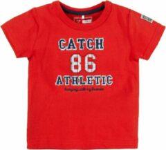 Name it Jongens Rode Newborn Tshirt Hero Name-It - 62