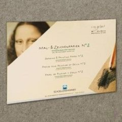 Schoellershammer Schilder/tekenpapier Nr.2 A2 grijs 110g/m2 blok 50 vel