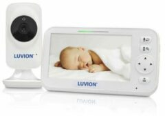 Witte Luvion Icon Deluxe babyfoon met camera
