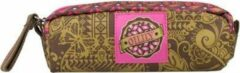 Kaki Oilily - S Pencil Case - Khaki