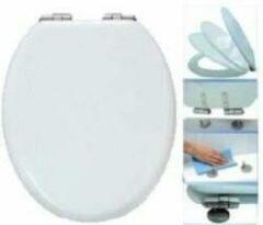 Badstuber Luxy wc bril met softclose en quick release wit