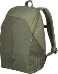 Basil B-Safe Commuter Fietsrugzak Nordlicht - Voor 15,6inch Laptop - Groen - 18 Liter