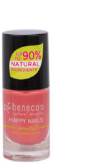 Rode Benecos Vegan Nail Polish Flamingo