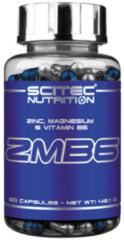 Scitec Nutrition - ZMB6 - Zinc, Magnesium en Vitamine B6 - 60 capsules - 30 porties