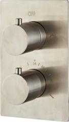 Roestvrijstalen Saniclear Exclusive volledig 304 RVS complete inbouw thermostaatkraan
