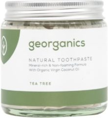 Georganics Natural Organic Remineralizing Tandpasta – Tea Tree