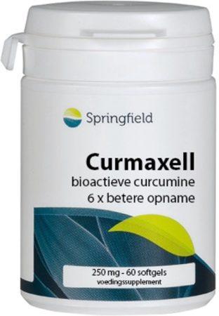 Afbeelding van Springfield Nutraceuticals Springfield Curmaxell 60 softgels