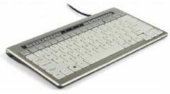 Grijze BakkerElkhuizen S-board 840 Compact Ergonomisch Toetsenbord