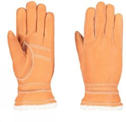 Hestra - Deerskin Primaloft - Handschoenen maat 6, beige/bruin/oranje