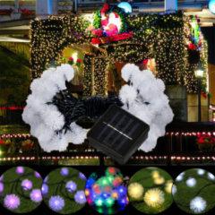 Meco 5M 20LED Dandelion Ball Solar Christmas Party Decor Outdoor Fairy String Light Lamp