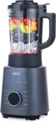 Zwarte MOA PB912 Power Blender 1200 Watt - Soepmaker - Blender & Soupmaker in 1 - Blenden & Verwarmen