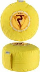 Zenzes Meditatiekussen Chakra drie Manipura - geel