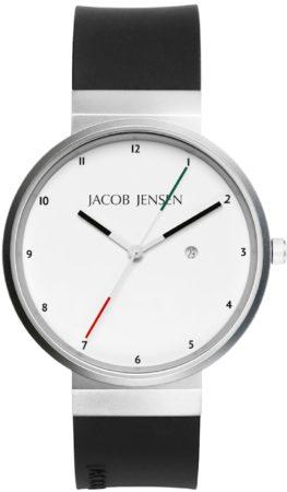 Afbeelding van Zilveren Jacob Jensen watches herenhorloge New 703