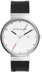 Zilveren Jacob Jensen watches herenhorloge New 703