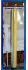 Bruine PME Legend Dowels / dowel rods - set van 12 - bamboe - PME Arts&Crafts
