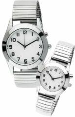 Dames- en herenhorloge Maximex Zilverkleur