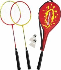 Rode Schildkröt Fun Sports - Badmintonset - 2 spelers - inclusief 2 shuttles