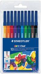 Staedtler Noris 326 viltstift Zwart, Blauw, Bruin, Groen, Oranje, Rood, Violet, Geel 1 stuk(s)