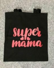 Zwarte Westford Mill Tas ''SUPER MAMA''
