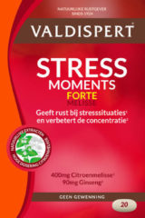 Valdispert Stress Moments Extra Sterk - 20 tabletten - Valeriaan