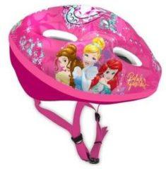 Roze Disney Princess fietshelm