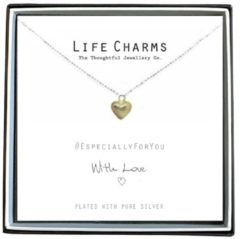 Life Charms Ketting met Giftbox Gold Heart