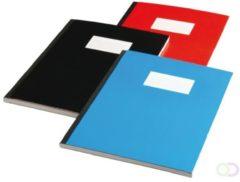 Office Schrift met harde kaft A5 160blz gelinieerd assorti