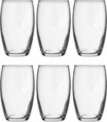 Transparante Cosy&Trendy 6x Tumbler waterglazen 360 ml - Luxe drinkglazen - Glas - Glazen voor frisdrank/water