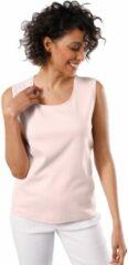 Roze Creation L Premium shirttop met bredere bandjes